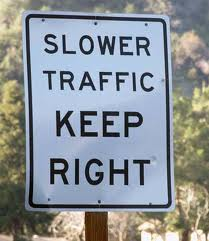 slower_traffic_sign Surrey Langley Driving School Lessons